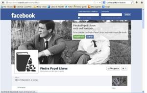 Piedra Papel en facebook