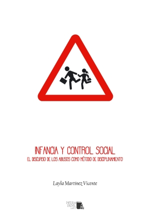 "Portada de ""Infancia y control social"", de L. Martínez."